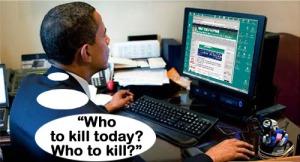 barack obama with computer
